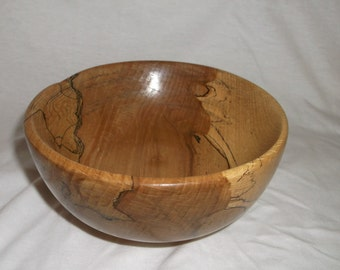 spalted beech wood candy dish