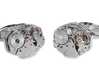 Clock Steampunk Cufflinks