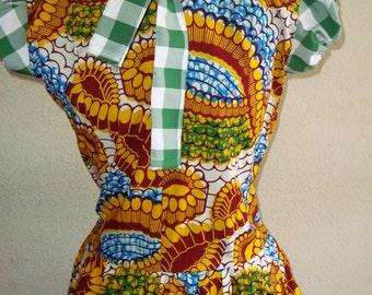 Veritable wax dress