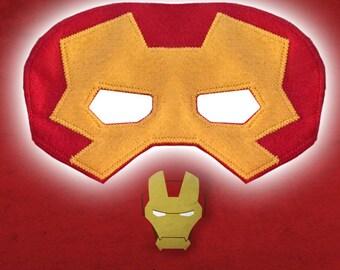 Ironman Super Hero Mask Pattern