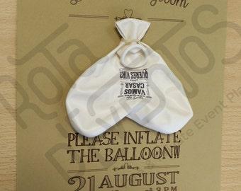 Custom wedding invitations (pack of 50)