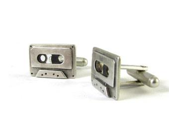 Otoo Cassette Cufflinks