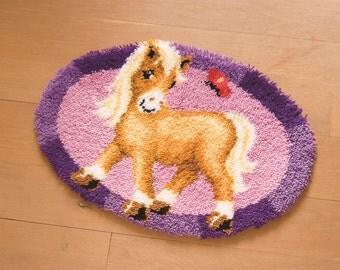 Vervaco Latch Hook Rug Kit Pony PN-0144090
