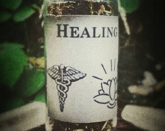 Healing Incense - Witch Doctor - Shaman - Health - Witchcraft - Magick - Loose herbal incense blend - All Natural - Healing Spells - Pagan