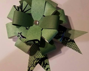 Set of 3 Large Paper Gift Bows