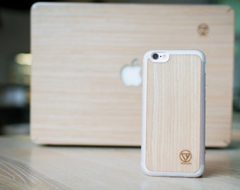 Ipone 6/6s natural wood case ( Maple )
