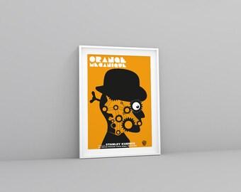 Poster Orange mécanique