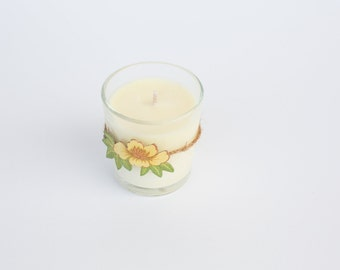 Jamaica Me Crazy scented hand poured soy candle in 7oz glass container