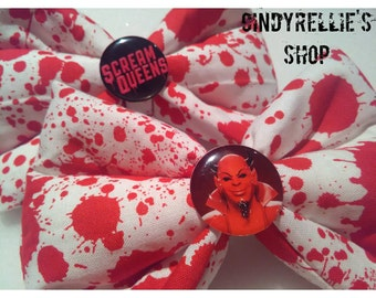 Red devil bow