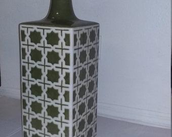 Vase jacquard square