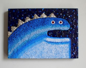 Monster Painting by Kendra Sartorelli (We Need Monsters #16)