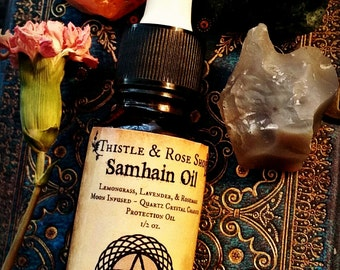 Samhain Oil ~ All Hallow's Eve ~ Ritual Oil ~ Protection