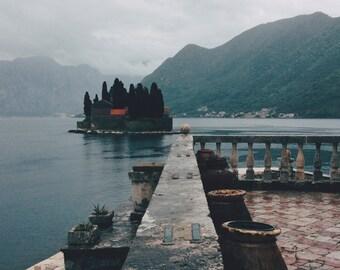Island near Kotor, Montenegro