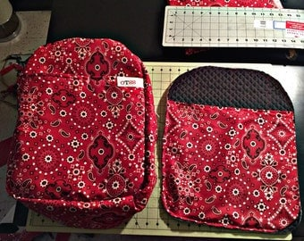 Bandana Backpack red limited edition
