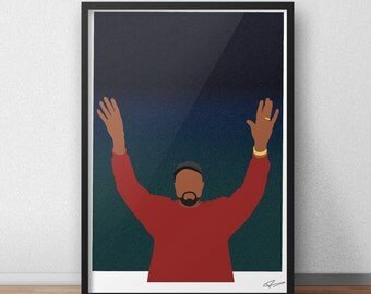 Kanye West INSPIRED Print / Poster