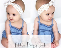 Butterfly Headband / Baby Girl Headband / Baby Turban / Newborn Photo Prop / Newborn Headbands / Infant Headbands / Jersey Knit Headband