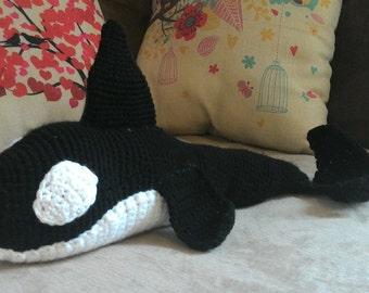 Crochet Orca