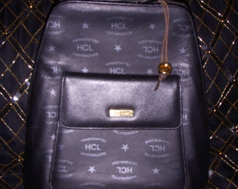 Vintage HCL Leather/Suede Backpack