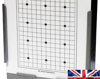 100 x Air Rifle 12 Dot Grid Target Design on Card 14 x 14cm