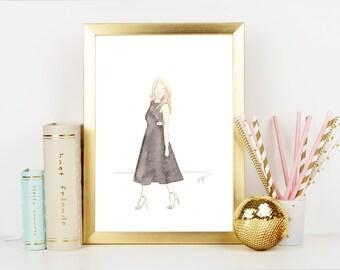 Lady in a Little Black Dress