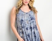 Plus Size Tye-Dye Tank Top!