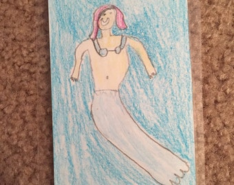 Mermaid bookmark