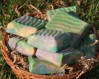 Lemongrass Essential Oil Goats Milk n' Shea Butter Soap Bars
