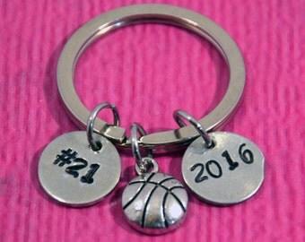 Basketball Keychain | Basketball Gifts | Basketball Gift Ideas | Basketball Charm  | Basketball Dad Gift | Basketball Mom Gift |