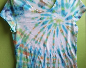 Caribbean Waters Tee - Ship Now - Women's Size L