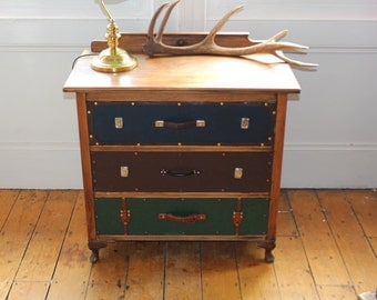 Reserved * Suitcase Chest of Drawers
