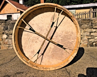 18' Handcrafted Shaman drum (goat hided)