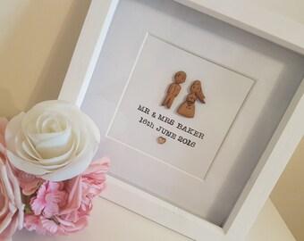 Personalised Wedding Frame, Perfect Wedding Gift