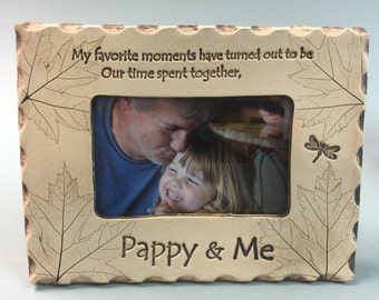 Pappy Frame, Pappy gift, best Pappy gift