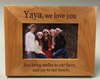 Yaya Frame, Yaya gift, best Yaya gift