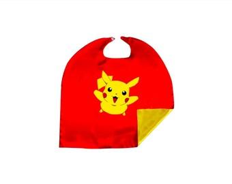 Pokemon Pikachu Cosplay Capes