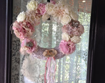 shabby chic victorian wreathj