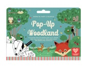 Pop Up Woodland Colour In Play Scene
