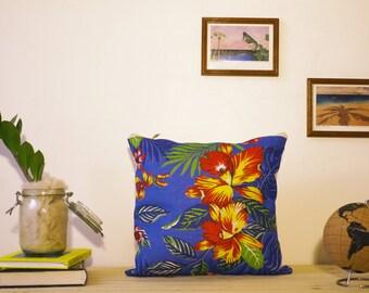 Cushion cover / Pillow BLUE ARARA