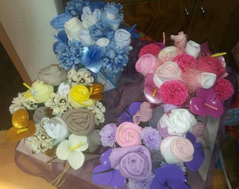Baby baby clothes bouquet gift mum corsage