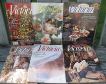 Lot of Vintage Victoria Magazines