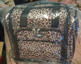 Ciao Travel bag leopard print nwt in box