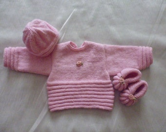 All pink baby size 0/3 months