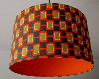 "Lampshade ""Retro-Orange"""