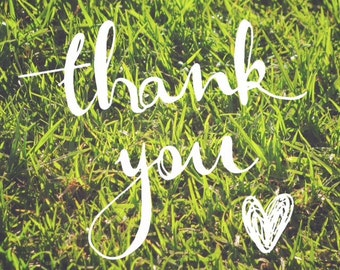 Thank You Grassy
