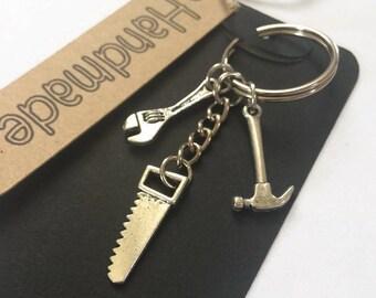 Tool Theme Keyring Gift Handymans Gift