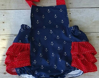 Anchors Romper