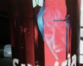 Container candles...Suspiria or any horror character