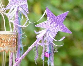 Purple  Magic Fairy Wand