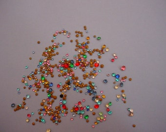 200+ Tiny and Teeny Tiny Rhinestones