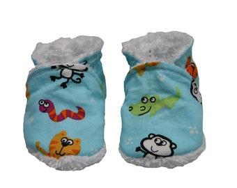 Slippers 100% organic cotton Savannah/Slippers biologic Cotton